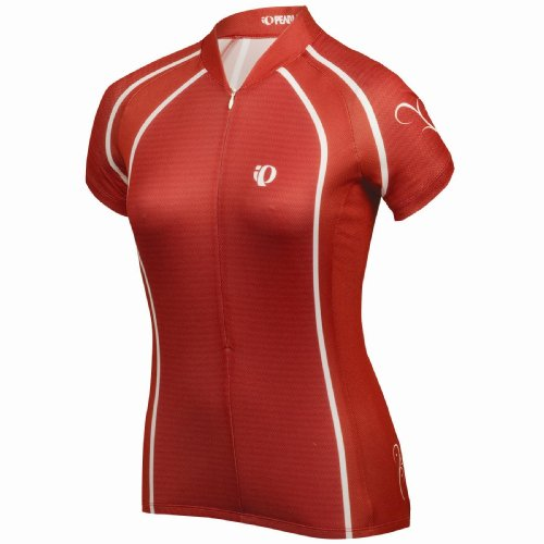 Pearl Izumi Damen Select LTD 3/4ZIP JERSEY Select Red