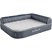 knuffelwuff almohada ortopédica esquina cama para perros Ortho Bed Arizona gris ...
