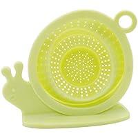 JIFNCR Silikon Waschbecken Sieb Schnecke Form Badewanne Abläufe Hair Catcher Kitchen Sink Stopper Bad Abflussfilter Haus Küche