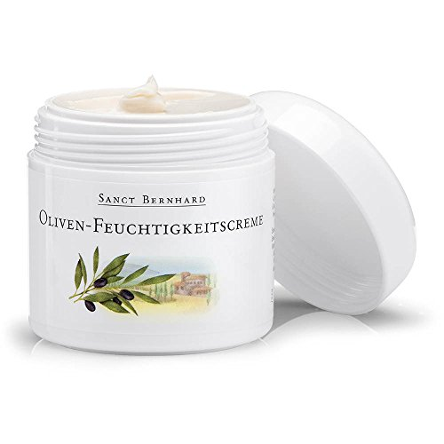 Sanct Bernhard Oliven-Feuchtigkeitscreme, unparfümiert - 100 ml