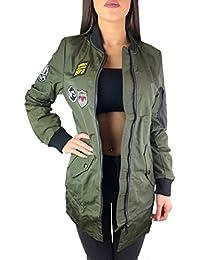 Jacke army style damen