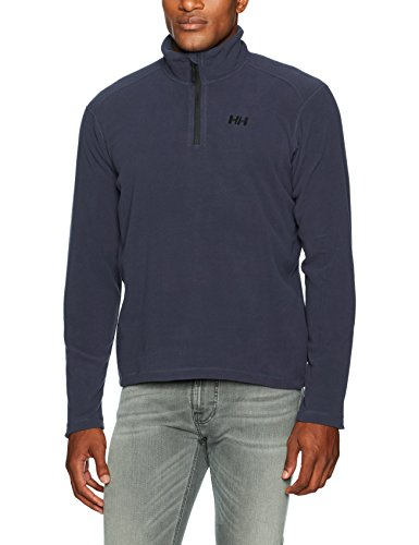 Helly Hansen Herren Daybreaker 1/2 Zip Fleece Graphite Blue, 2XL