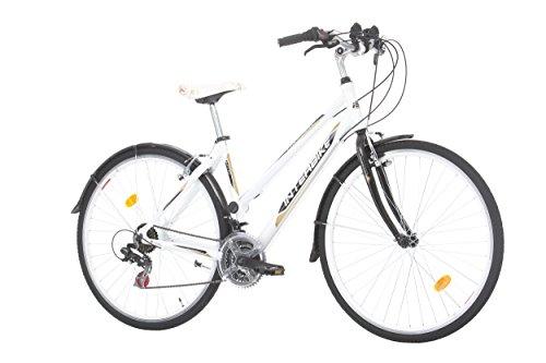 Bicicleta de Paseo Interbike CROSSFIT para mujer ruedas de 28 pulgadas, Shimano 18 cambios