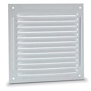 anzapack 814348l Grille Flat 30X 30cm. White