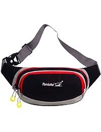 Generic Unisex Waterproof Sport Fanny Pack Waist Bum Bag Fitness Running Jogging Belt Chest Pouch
