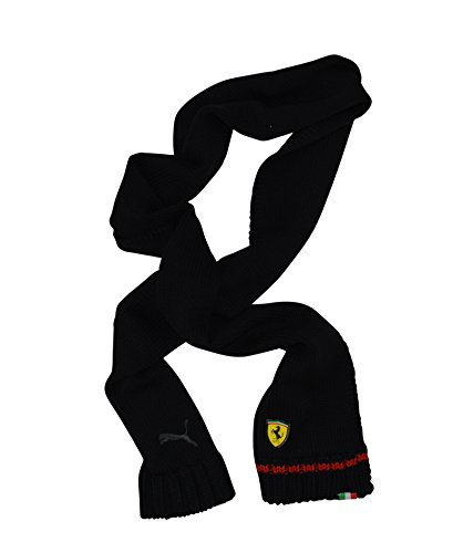 Uomini e donne PUMA Ferrari maglia sciarpa nera