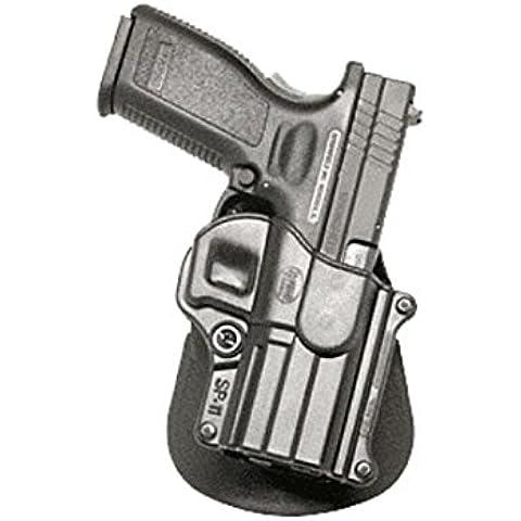Fobus Conceal per caviglia sinistra per Springfield XD XDM HS/2000/Taurus PT609 titanio, 24/7 9 PT & 40 mm