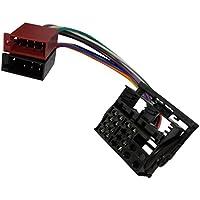 AERZETIX: Adaptador cable enchufe ISO para autoradio de coche vehiculos C12048