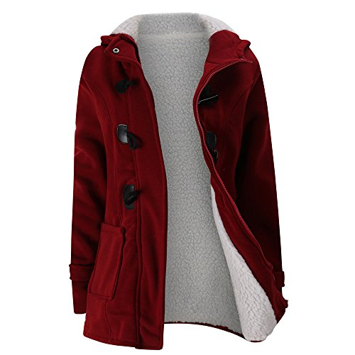 Warme Damen Winter Jacke Lang Winterjacke Parka Mantel - Oyedens Mode Winter Damen Lange Dicke Warme Mäntel Wintermantel Kapuzenjacke...