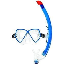 Masque et tuba Scubapro - Bleu et transparent