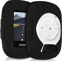 kwmobile Funda para Garmin Edge 200/500 - protector para ordenador de bicicleta - Cover para GPS en negro