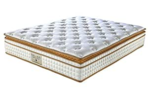 King Koil Maharaja Grand 10-inch King Size Foam Mattress (White, 78x72x10)