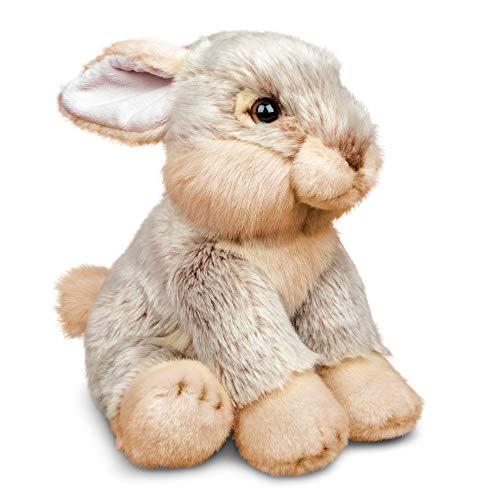 Tobar-Tobar-37236 - Peluche de Conejo, animigos World of Nature, Color marrón