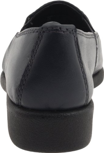 Hush Puppies Women's Heaven Slip On,Navy Leather,10 M US navy leather