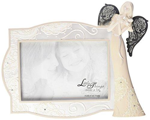 Frame-foto Angel (Little Things Mean A Lot Besondere Erinnerungen Bilderrahmen mit Engel, 9–1/2von 7–3/4-Zoll, hält 4von 15,2cm Foto)