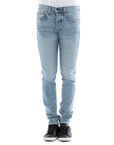 Rag & Bone Herren M1224k510dup Hellblau Baumwolle Jeans (Und Rag Herren Bone)