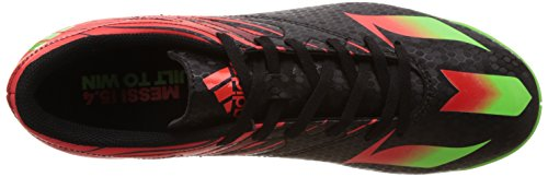 adidas Messi 15.4 in, Scarpe da Calcio Uomo Multicolore (Core Black/Solar Green/Solar Red)