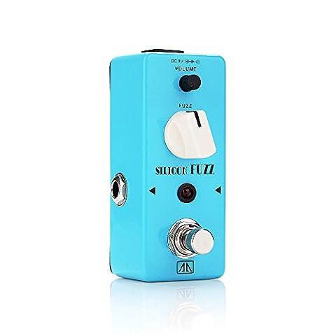 AA ASF-5 SILICON FUZZ Mini Gitarren-Effekte Effektpedal Wahrer Bypass Weinlese-Silikon-Transistor-Flaum für Gitarre Bass - Lightwish