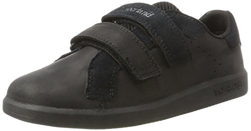 Timberland Casual Oxford (Timberland Kids Court Side Hook and Loop Oxford, Schwarz (Black), 39 EU)