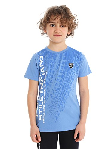 automobili-lamborghini-t-shirt-stile-italiano-lamborghini-bambino-junior-blu-8-anni