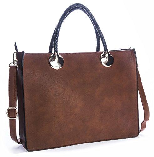 Big-Handbag-Shop-Womens-Designer-Top-Handle-Semi-Structured-Two-in-One-Tote-Bag
