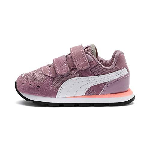 Puma Unisex Baby Vista V INF Sneaker, Violett (Elderberry White 4), 20 EU