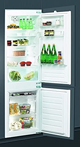 Whirlpool ART6514/A+ Intégré 195L 80L A+ réfrigérateur-congélateur - réfrigérateurs-congélateurs (Intégré, Bas-placé, A+, Electrique, SN-T,