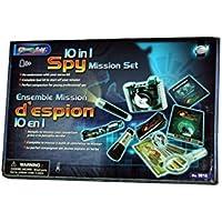 Eastcolight 9818 - Juego de misión espía 10 en 1