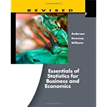 Essentials of Statistics for Business and Economics. Revised (with Essential Textbook Resources Printed Access Card)