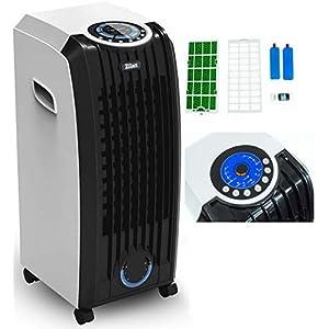 3in1 Aircooler   Mobile Klimaanlage   3 Geschwindigkeitsstufen   Klimagerät   Luftreiniger   Klima Ventilator mit Fernbedienung   Luftkühler   Luftbefeuchtung   Klima Anlage   Timer   Air Cooler