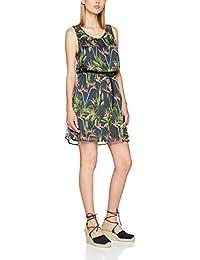 ONLY Damen Kleid Onllia Lace S/L Aop Dress Wvn