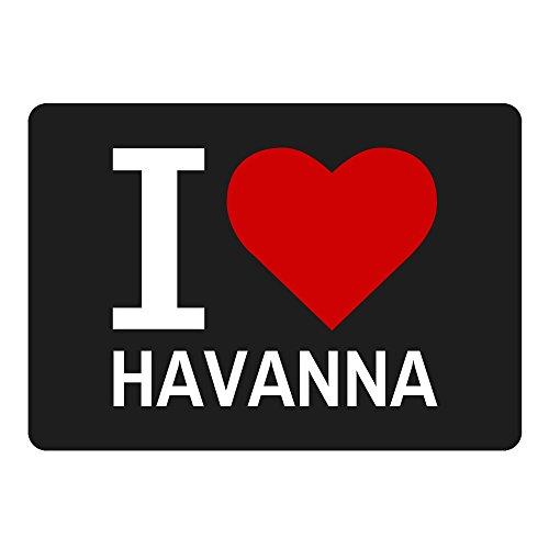 Mousepad Classic I Love Havanna schwarz