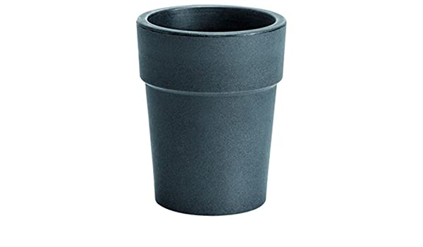 diametro 30 cm colore antracite opaco hydroflora 63003330 vaso Nicoli Ares altezza 37,5 cm