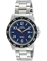 Timex Analog Blue Dial Unisex Watch - T49925