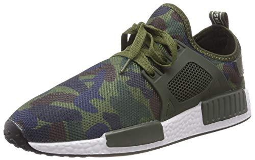 Bild von XIANV beiläufige Schuhe Frühlings Sommer Art und Weisemann Schuhe Hombre Sneaker Armee Grün Männer Beschuht beiläufige Tarnungs Schuhe