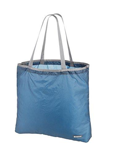 Ferrino Lydd Borsa Pieghevole Ultraleggera, Verde, M Blu
