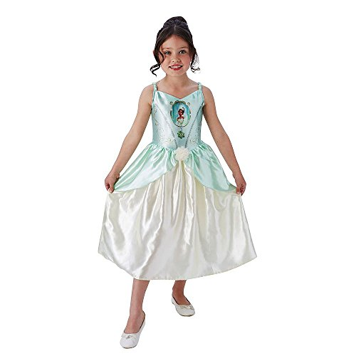Disney Princess Fancy Dress Kostüm - Rubie's Offizielles Tiana Mädchen Fancy Kleid