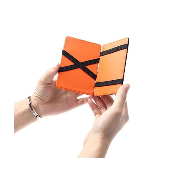 ... uomoPortafoglio Magico in simili cuoio – magic wallet Credit Card Holder  – porta moneta –Verde. 🔍. Accessori ... 5671db00b533