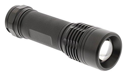 Eurosell - Premium Mini Cree LED Taschenlampe - 180 Lumen - IPX7 wasserfest - eloxiertes Aluminium Gehäuse - extrem hell