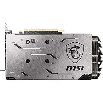 MSI GeForce RTX 2060 GAMING Z 6G Scheda grafica, 6 GB GDDR6, PCI Express x16 3.0, DisplayPort x 3 (v1.4) / HDMI 2.0b x 1, Nero