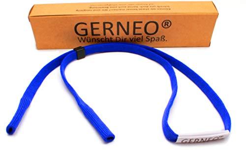 GERNEO – Premium Sportbrillenband & Brillenhalter für Sportbrillen, Sonnenbrillen, Lesebrillen...