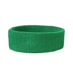 MB 42 Frottier-Stirnband – grün