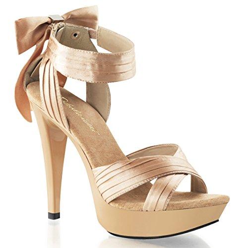 Sandales à talons hauts pour femme beige (beige) Beige - Beige
