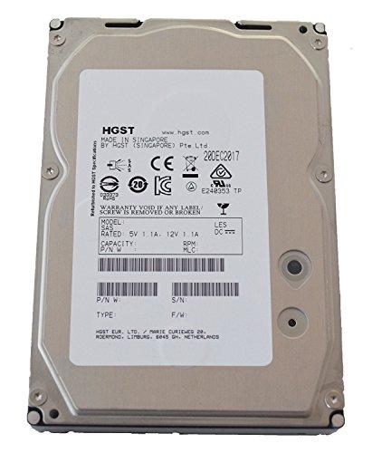 Hitachi HGST Ultrastar 15K600 Interne Festplatte, HDD 3,5 Zoll, SAS 6 Gb/s, 64MB Cache, 15000RPM - recertified, Kapazität:600GB, HDD Verschlüsselungsart:Keine Verschlüsselung