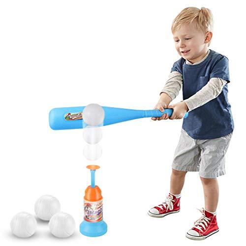 Joyibay Baseball Set Jouet Entraînement Automatique Lanceur Baseball Bat Jouet Enfants Baseball Set