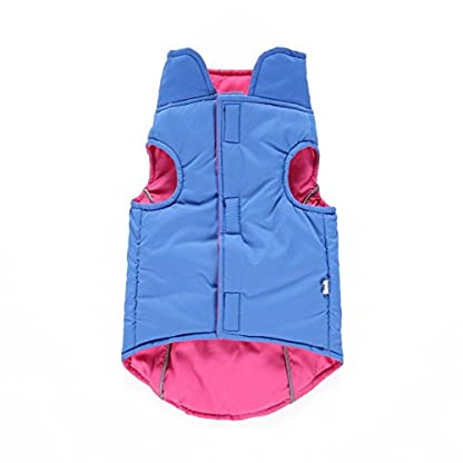 Puppy Pet Warm Coat,Kiao Small Dog Soft Winter Vest Clothes Both Sides Can Wear 2