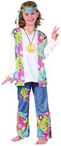 Imagen de disfraz hippie niña  10 12 años