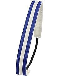 Ivybands Haarband Stripes - Visera de tenis para hombre, color multicolor, talla de: one size