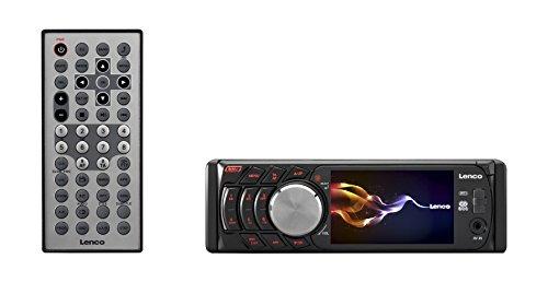 Lenco CS-460 DVD Autoradio (8,9 cm (3,5 Zoll) Display, DVD-Player, Fernbedienung, USB, SD, ISO-Kabel)