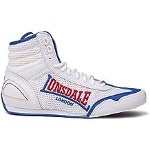 Lonsdale - Botas de Piel para hombre